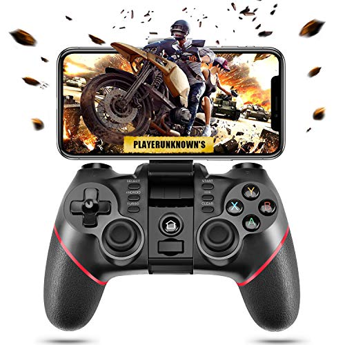 ACGEARY Wireless Bluetooth Android Game Controller Mobile Gaming Controller Gamepad Joystick Compatible for iOS/Android Phone/PC Windows/Smart TV/TV Box/ PS3(Does not Support iOS 13.4)