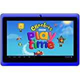 """Google Android 7"""" Tablet PC featuring CBeeBies PlayTime (Blue)"""