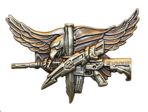 Gold Badge Awards - SWAT Operator Pin - Antique Gold