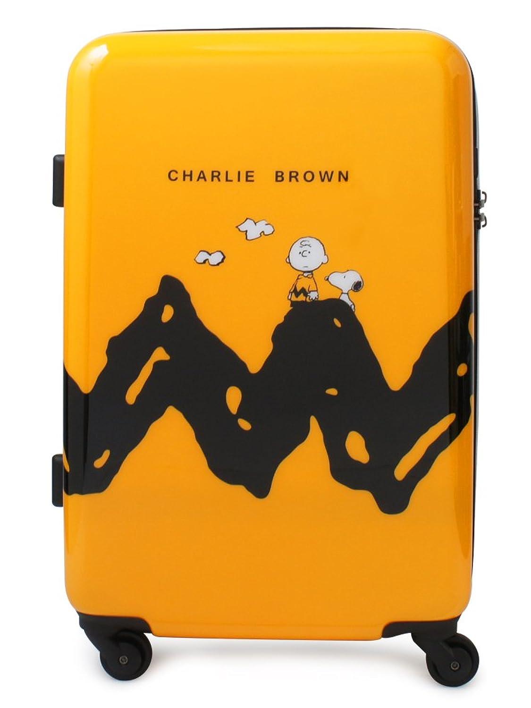 (ピーナッツ) peanuts スヌーピー SNOOPY キャリーケース PN-004 55cm CHARLIE/YELLOW B07743MT6X