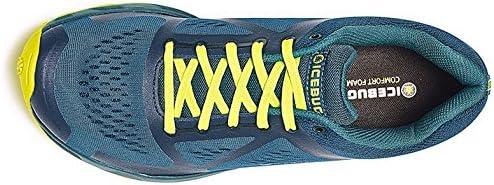 Icebug Mens DTS3 BUGrip Traction Studded Running Shoe