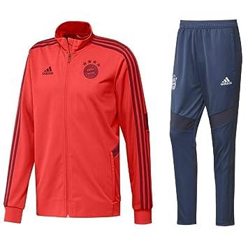 Trainingsanzug Adidas Gr.140 Jacke & Hose grau rot | eBay