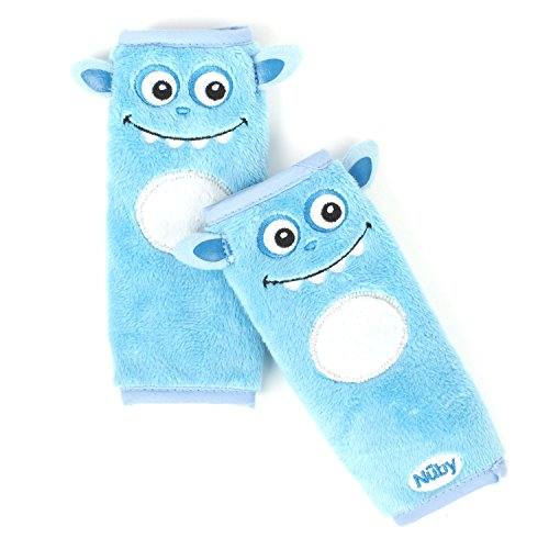 Nuby Monster Strap Covers Blue