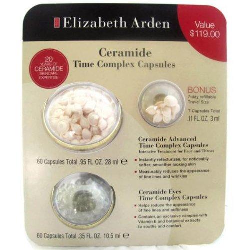 Elizabeth Arden Ceramide Time complex capsules value package (67 advanced capsules+60 ceramide eye capsules)
