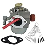 Dosens Carburetor for TECUMSEH 640174 640156 640076A, 640076, 640262 640124 640026 640173 640119 640026A 640168 640069 & Carbon Dirt Jet Cleaner Tool Kit
