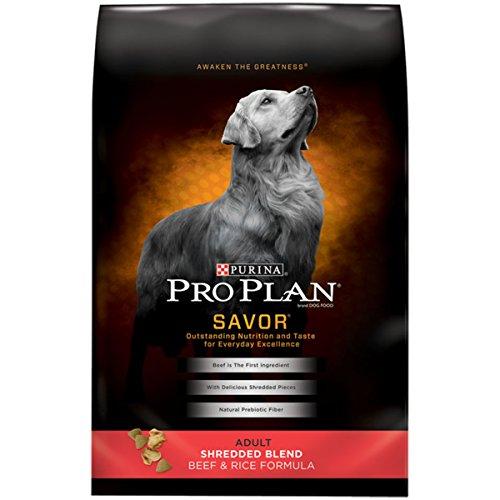 Purina Pro Plan Dry Dog Food; SAVOR Shredded Blend Beef & Rice Formula - 6 lb. Bag ()