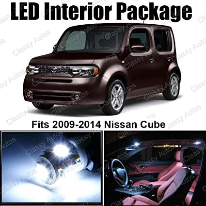 Amazon Classy Autos Nissan Cube White Interior Led Package 5