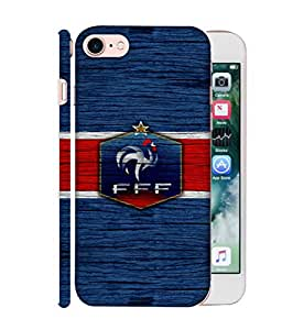 ColorKing Football France 16 Blue shell case cover for Apple iphone 7