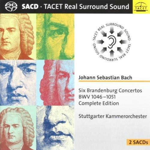 SACD : J.S. Bach - Brandenburg Concertos (Hybrid SACD)