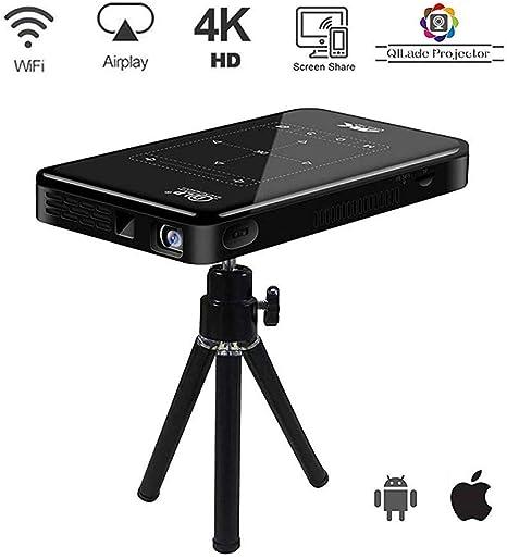 4K Proyector Portátil WiFi Bluetooth Touchpad Proyector De Vídeo ...