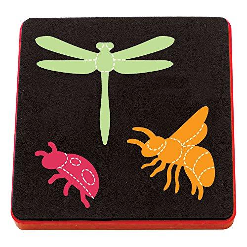 Sizzix 動物 セット ハチ トンボ てんとう虫 A10739【日本正規品】