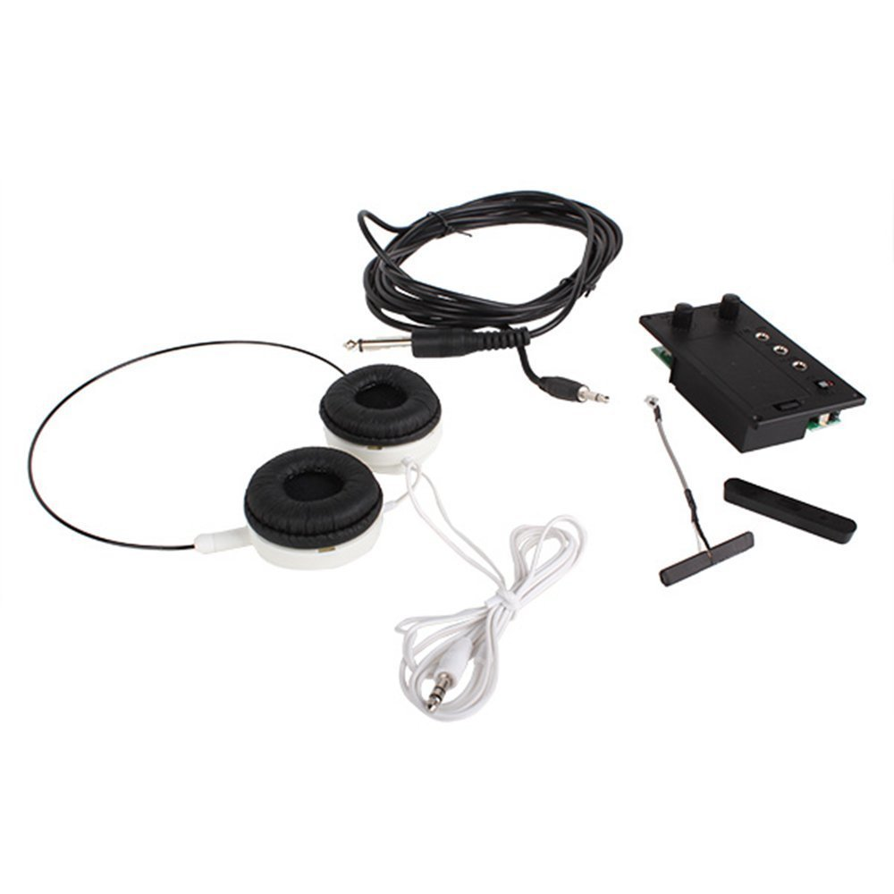 Surfing Electric Violin Silent EQ Pickup Piezo with Headphone and Plug Hole Cable Set