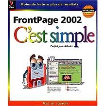 Frontpage 2002 c'est simple