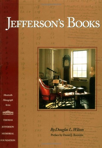 Jefferson's Books (Monticello Monograph Series) by Brand: Thomas Jefferson Memorial Foundation
