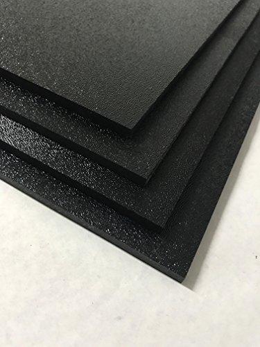 ABS Black Plastic Sheet 1/8