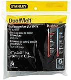 Stanley Bostitch Dual Temperature Glue Sticks, 4 In Stick, 24/Pack, Case of 5 Packs