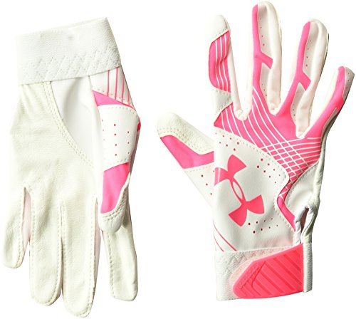 - Under Armour Girls' Youth Radar Softball Gloves, Cerise /Cerise, Youth Medium