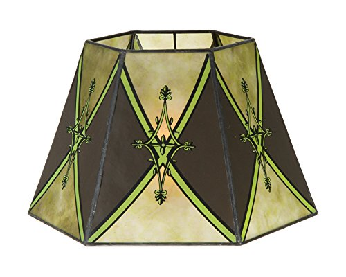 B&P Lamp Mica Panels (Green Mica Shade)
