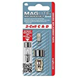MagLite D Replacement Bulb Xenon Bulb for 2-Cell