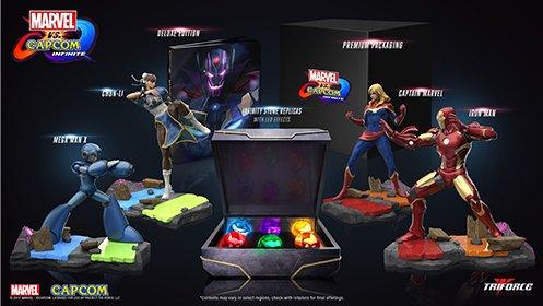 Marvel vs. Capcom: Infinite Collector's Edition - XBOX ONE (Video Xbox 360 Ironman Game)