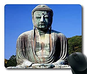 The Great Buddha Masterpiece Limited Design Oblong Mouse Pad by Cases & Mousepads by icecream design
