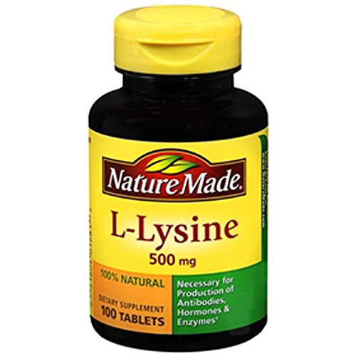 Nature Made L Lysine 500mg