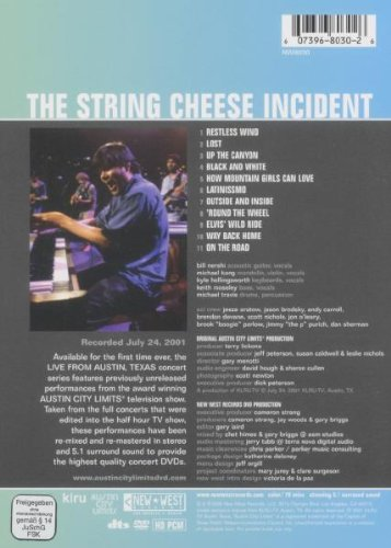 String Cheese Incident: Live from Austin, TX
