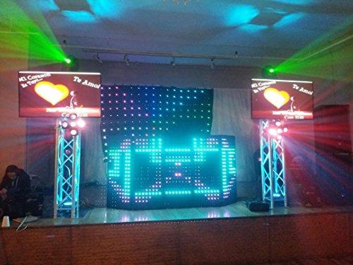 LED Dj Rectangular Facade Dj Booth (4 panels)