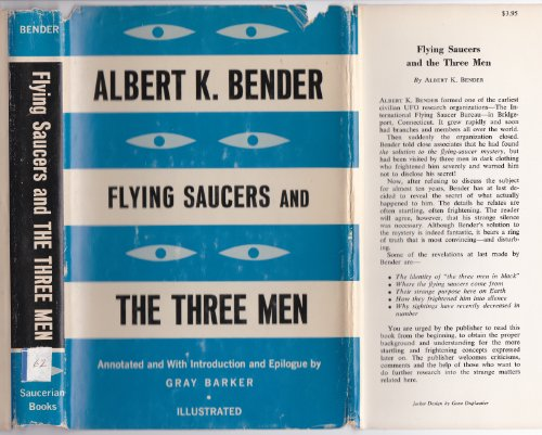 Flying Saucers and The Three Men/They Knew Too Much About Flying Saucers (2 Book Set) Men in Black - Agent Mib K