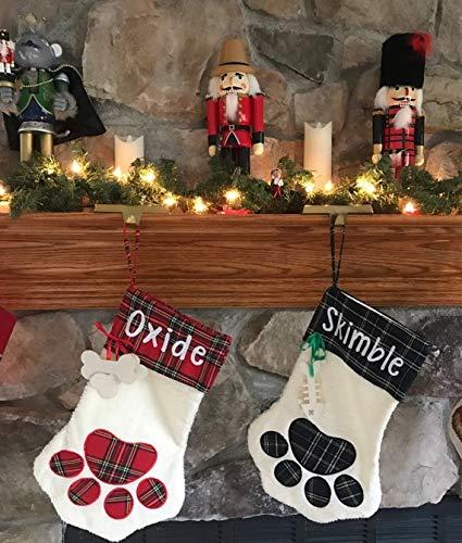 amazon com pet christmas stocking dog christmas stocking cat