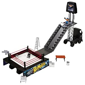 WWE Rumblers Transforming Rumble Rig Playset