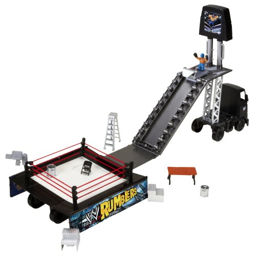 WWE Rumblers Transforming Rumble Rig Playset by Mattel