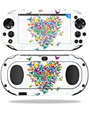 MightySkins Skin Compatible with Sony PS Vita (Wi-Fi 2nd Gen) – Wildheart | Protective, Durable, and Unique Vinyl Decal wrap Cover | Easy to Apply, Remove, and Change Styles | Made in The USA
