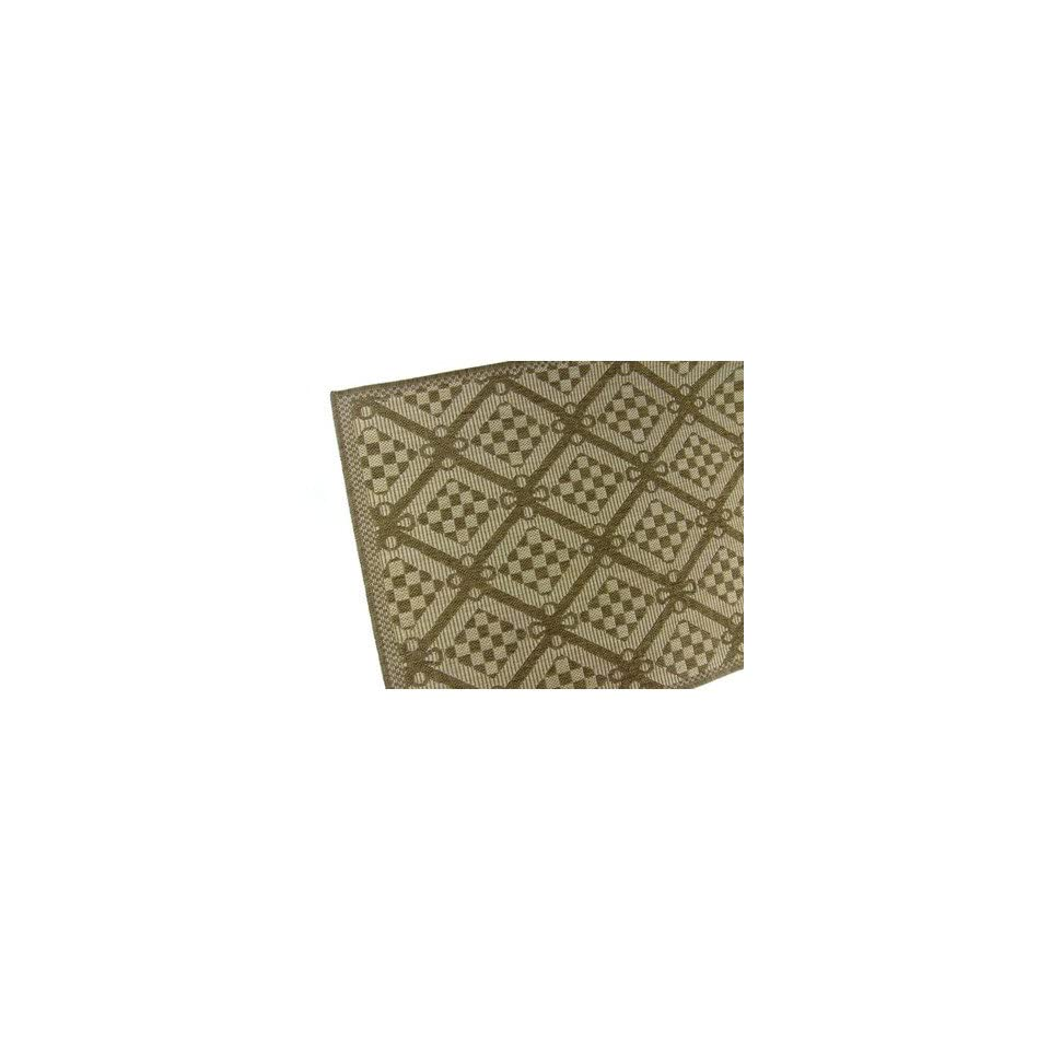 American Mills Honeycomb Polypropylene Indoor/Outdoor Area Rug, 5 Feet 3 Inch by 7 Feet 6 Inch, Chocolate  Doormats  Patio, Lawn & Garden