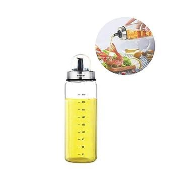 Fyuan 1pcs Dispensador de vinagre y aceite de oliva - 10 oz. Botellas de vinagrera