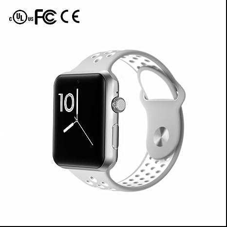 Smart Watch,Teléfonos Inteligentes Reloj Inteligente Pantalla Táctil,podómetro,monitoreo de sueño,