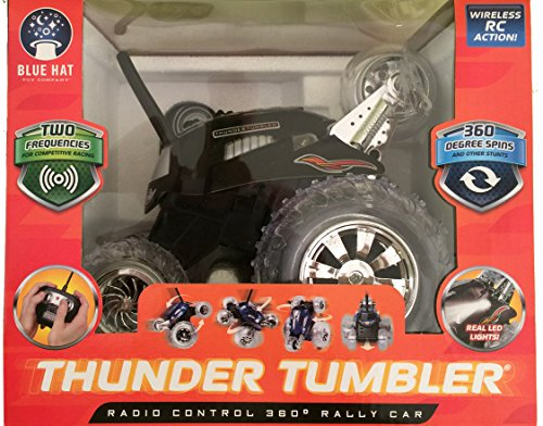 Thunder Tumbler Radio Control 360 Degree Rally Car (Black)