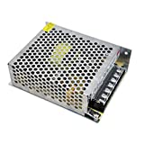 OLSUS DC 5V 60W 12A Metal Shell LED Switching Power Supply (AC 85~265V/Silver)