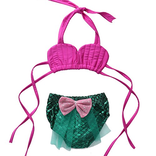 baby-girl-swimsuit-mermaid-bikini-set-strap-top-lace-short-pants-swimwear-800-6months-green