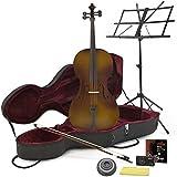 Violoncello da studio misura 4/4 con custodia + starter kit
