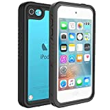 iPod Touch Case 6th/5th Generation, iPod Touch 6th/5th Generation Case for Girls Kids Boys, Bosmix iPod Touch 6/5 Waterproof Case, Waterproof Case for iPod Touch 6th/5th Generation with Kickstand