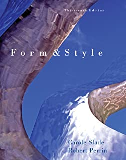 Form and style thesis reports term papers
