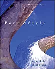 form and style research papers reports theses