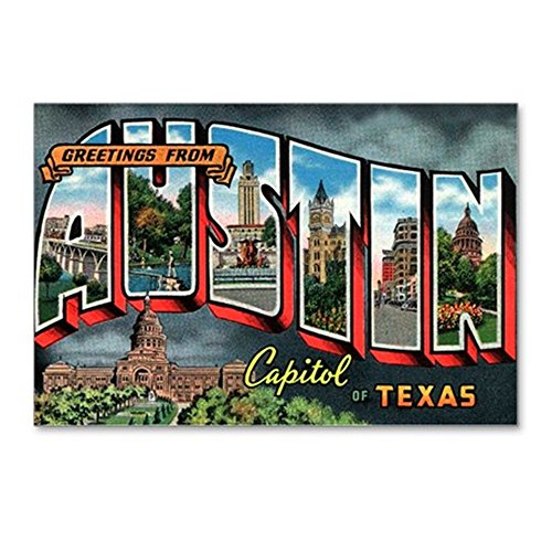 CafePress - City Of Austin Postcard - Postcards (Package of 8), 6