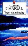 Trous de mémoire par Chapsal-M