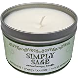Our Own Candle Company Soy Wax Aromatherapy Scented Candle, Simply Sage, 6.5 Ounce