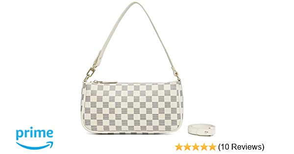 Miracle Luxury Shoulder Bag   Retro Baguette Purse   Cross Body Clutch   PU Vegan Leather for Women