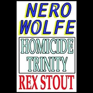 Homicide Trinity Audiobook