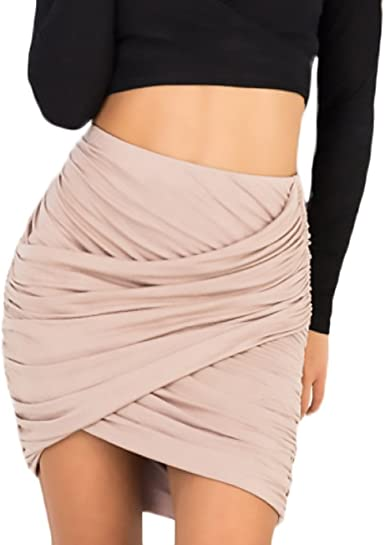 Faldas Cortas Mujer Casuales Falda Tubo Ropa Verano Colores ...