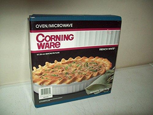 Corningware French White 10 inch Quiche / Pie Plate